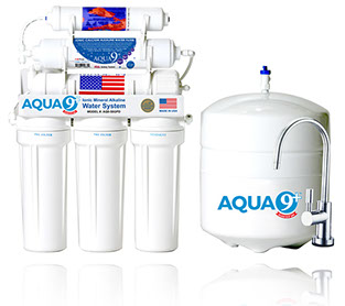 AQUA 9+ Ionic Mineral Alkaline HOME WATER SYSTEM | 7 Stage